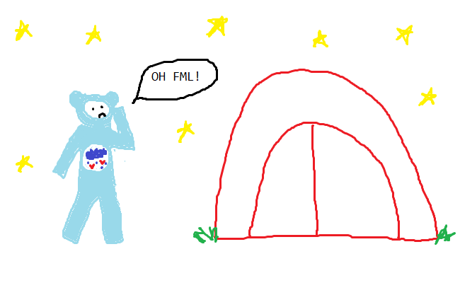 where tent